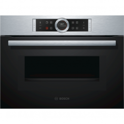 BOSCH CMG633BS1B Serie   8 Compact Oven with Microwave