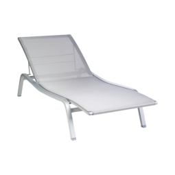 Fermob  Alize Sunlounger Steel Grey- 8906