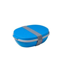 Rosti Mepal Lunchbox Ellipse Duo – Aqua