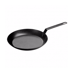 Lodge CRS12 Carbon Steel Skillet, Pre-Seasoned, 12-inch