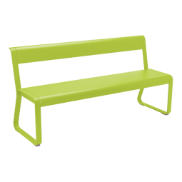 Fermob Bench With Back Bellevie