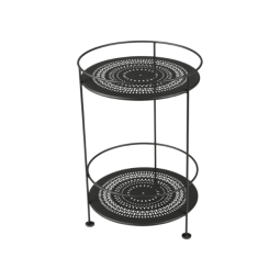 Fermob Side Table Double Top Perforated Guinguette