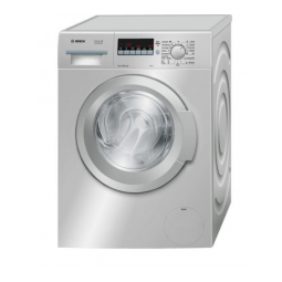 BOSCH WAK2020SGC Serie | 4 Washing Machine 7Kg 1000rpm, Inox