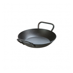 Lodge CRS8DLH – 8 Inch Carbon Steel Pan