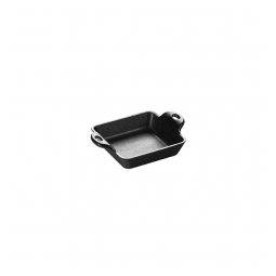 Lodge HMSS – 10 Ounce Square Cast Iron Mini Server