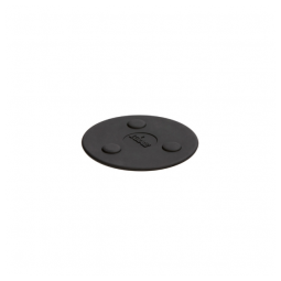 Lodge ASMMT – 5 Inch Mini Black Silicone Magnet Trivet