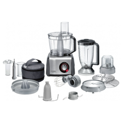 BOSCH MC812M853G Food Processor MultiTalent 8, 1250 W Black