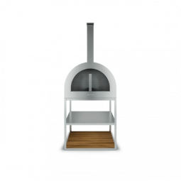 ROSHULTS PIZZA WOOD OVEN – STAINLESS STEEL