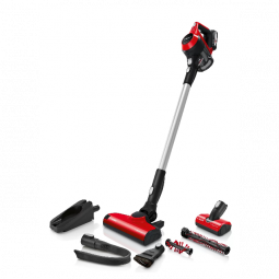 BOSCH BCS61PETGB Serie | 6 Rechargeable Vacuum Cleaner Unlimited ProAnimal Red