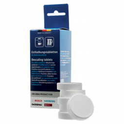 BOSCH Descaling Tablets for Coffee Machines & Kettles
